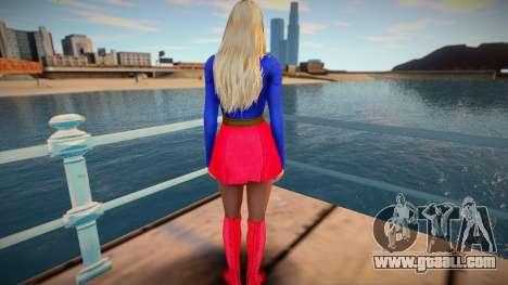 Helena Super Girl for GTA San Andreas