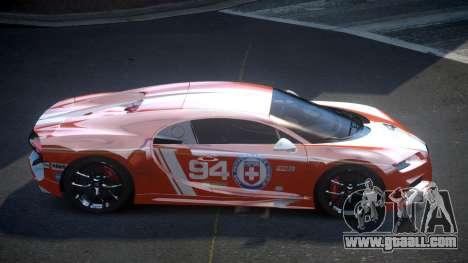 Bugatti Chiron GS Sport S10 for GTA 4
