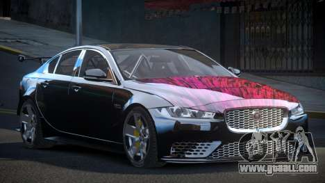 Jaguar XE GST S6 for GTA 4