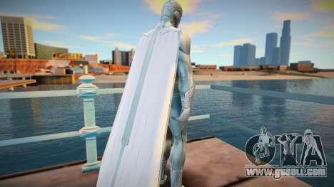 White Vision skin for GTA San Andreas