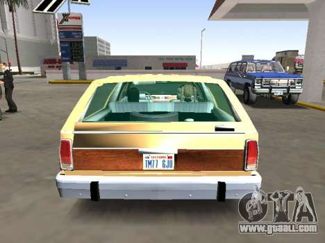 Ford LTD Crown Victoria Station Wagon 1986 for GTA San Andreas