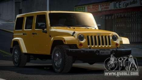 Jeep Wrangler PSI-U for GTA 4