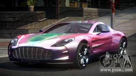 Aston Martin BS One-77 S1 for GTA 4