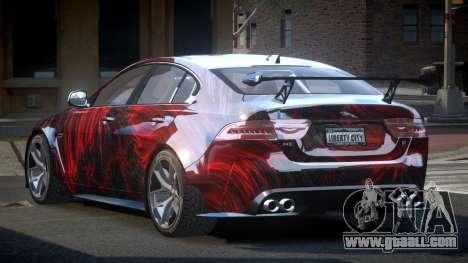 Jaguar XE GST S10 for GTA 4