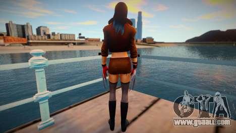 X-23 skin for GTA San Andreas