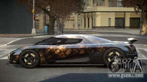 Koenigsegg Agera US S4 for GTA 4