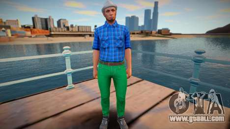 Dude 24 from GTA Online for GTA San Andreas