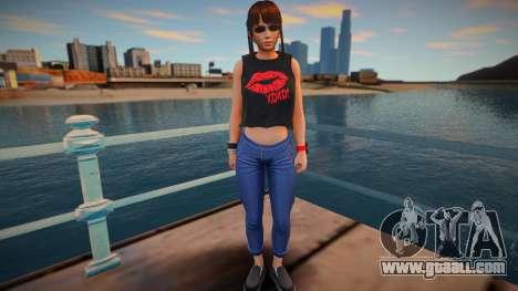 DOA Leifang Fashion Casual V2 for GTA San Andreas