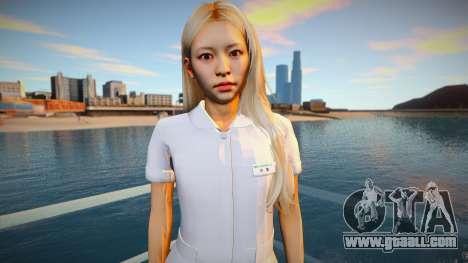 Japan Nurse for GTA San Andreas