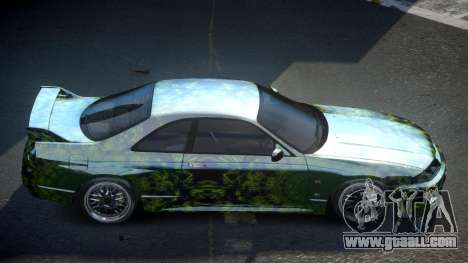 Nissan Skyline R33 US S10 for GTA 4