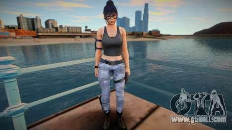 Nyotengu Special Agent for GTA San Andreas