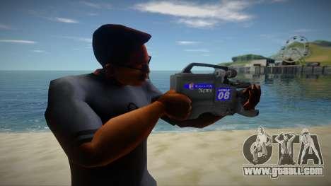 Video Camera for GTA San Andreas