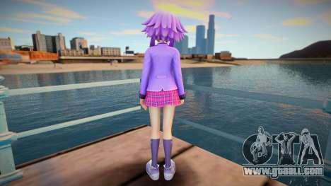 Megatagmesion Neptunia Skin v2 for GTA San Andreas