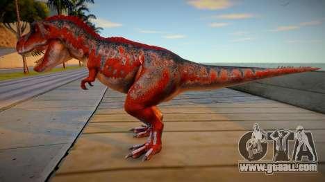 T-Rex skin for GTA San Andreas
