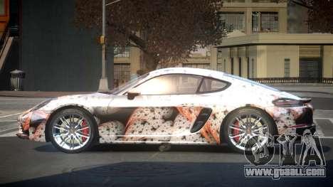 Porsche 718 U-Style S8 for GTA 4
