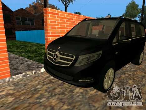 Mercedes-Benz Bluetec V250 for GTA San Andreas