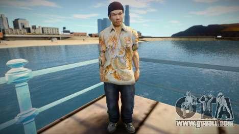 Yakuza skin for GTA San Andreas
