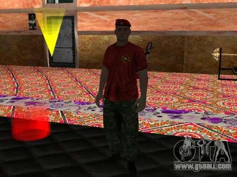 Instructor Krapovik for GTA San Andreas