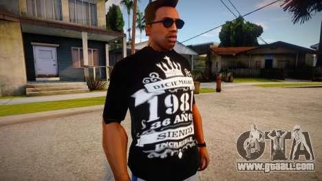 New T-Shirt - tshirtbobored for GTA San Andreas