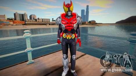Kamen Rider Kiva Normal Form skin for GTA San Andreas
