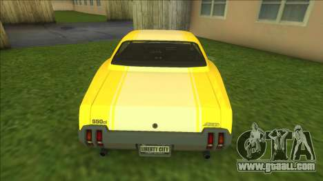 Sabre GT for GTA Vice City