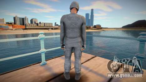 Male helmet from GTA Online for GTA San Andreas