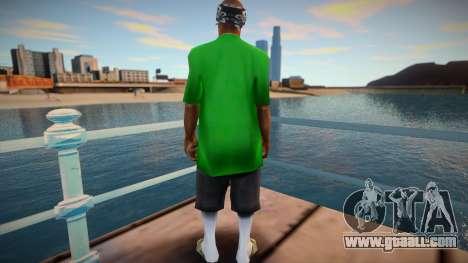 New Fam 3 skin for GTA San Andreas