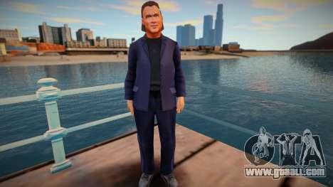 Steven Seagal for GTA San Andreas