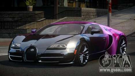 Bugatti Veyron PSI-R S6 for GTA 4