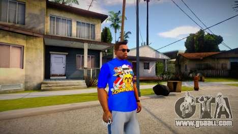 New T-Shirt - tshirterisyell for GTA San Andreas