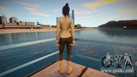 Haruka Sawamura - Yakuza 5 (Topless) for GTA San Andreas