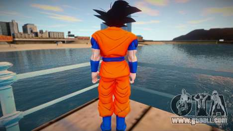 Goku Capsule Corp for GTA San Andreas
