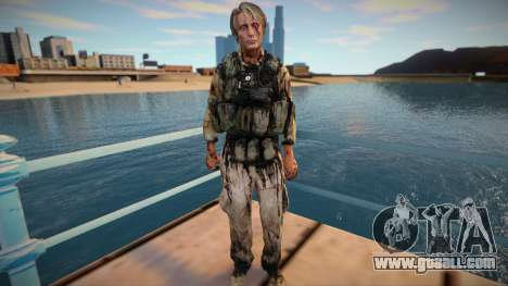 Cliff [Mads Mikkelsen] (from Death Stranding) for GTA San Andreas