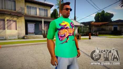 New T-Shirt - tshirtmaddgrn for GTA San Andreas