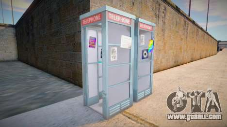 4K Telephone Booth for GTA San Andreas