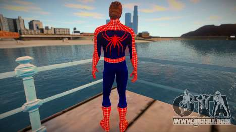 Spiderman 2007 (Red-unmask) for GTA San Andreas