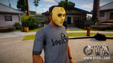 Expendable Asset Mask For CJ for GTA San Andreas