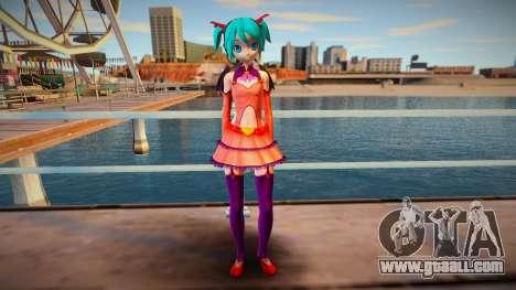 PDFT Hatsune Miku Heart Hunter for GTA San Andreas