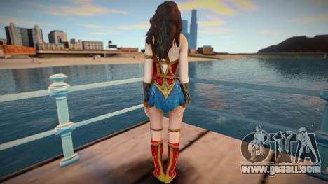 Wonder Woman (normal skin) for GTA San Andreas