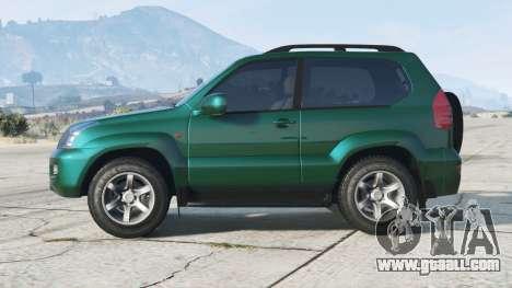 Toyota Land Cruiser Prado 3-door (J125W)〡add-on