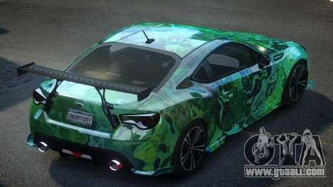Subaru BRZ SP-U S8 for GTA 4