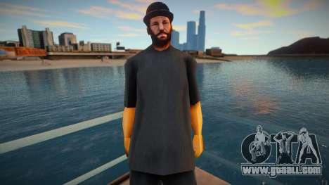 Str3sU ComputerS Skin - Black Style for GTA San Andreas