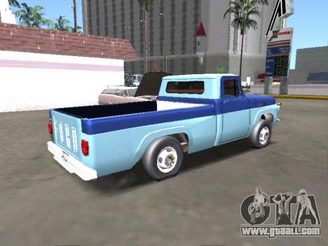 Ford F-100 1967 for GTA San Andreas