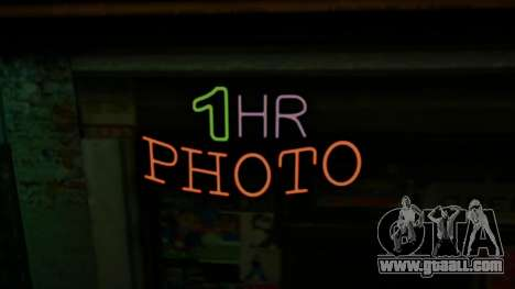 New neon signs for GTA San Andreas