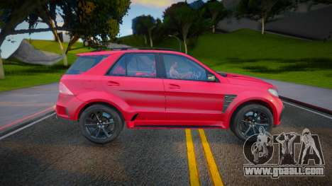 Mercedes-Benz GLE 63 TopCar for GTA San Andreas
