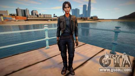 Jyn Erso from Star Wars: Force Arena for GTA San Andreas