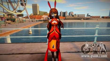 Princess Tosatsu (MMD) for GTA San Andreas