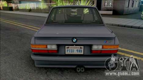BMW M5 E28 [HQ] for GTA San Andreas