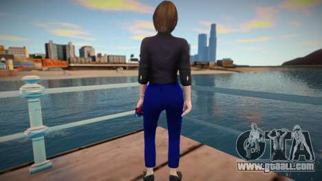 Samantha Samsung (Sam) Virtual Assistant for GTA San Andreas