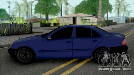 Mercedes-Benz E280 W211 Simple for GTA San Andreas